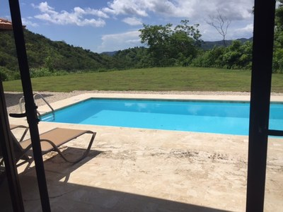 Casita Pool and View