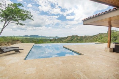Main House pool and view