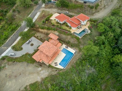 Main House Aerial View