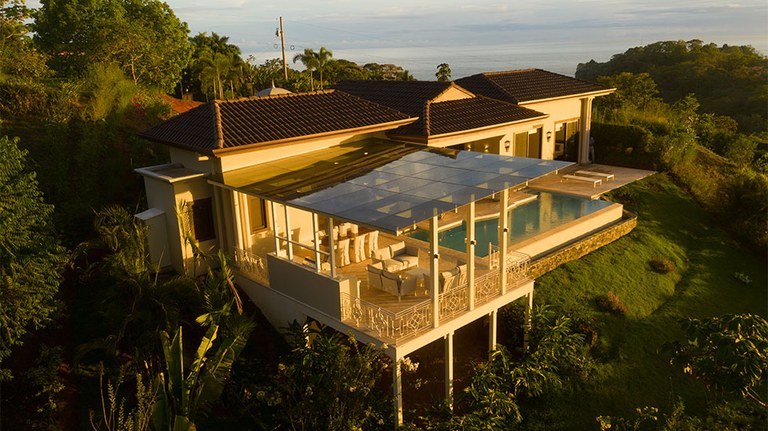 Amazing  Luxury Home  with Views to Dominical Beach and Manuel Antonio - 0.42 Acres