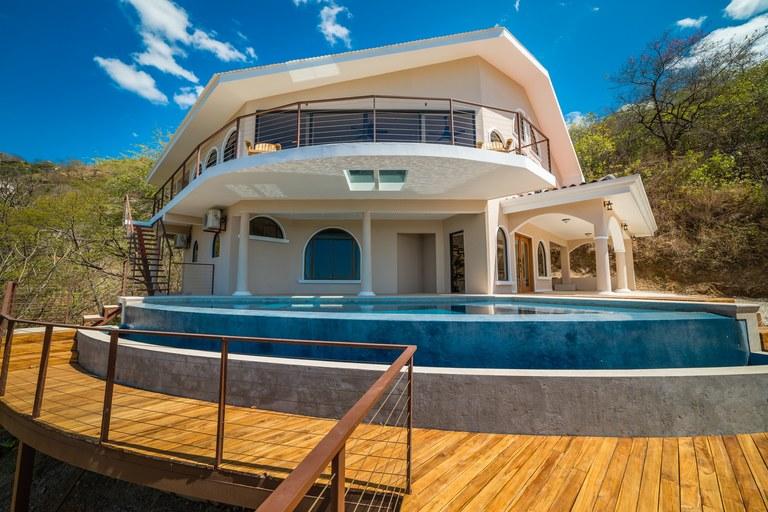 Vista Prieta Ocean View Home: Near the Coast House For Sale in Playa Potrero