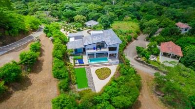 Casa Mar Vista_Aerial Exterior Front
