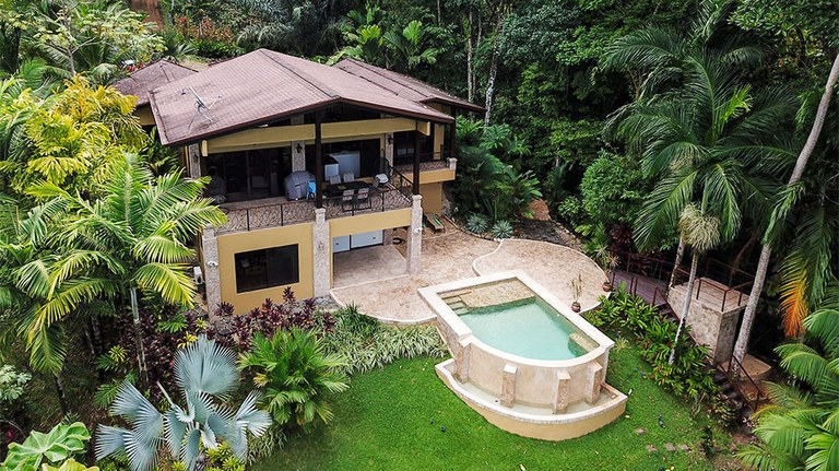 Immaculate Ocean View Home in Gated Uvita Community