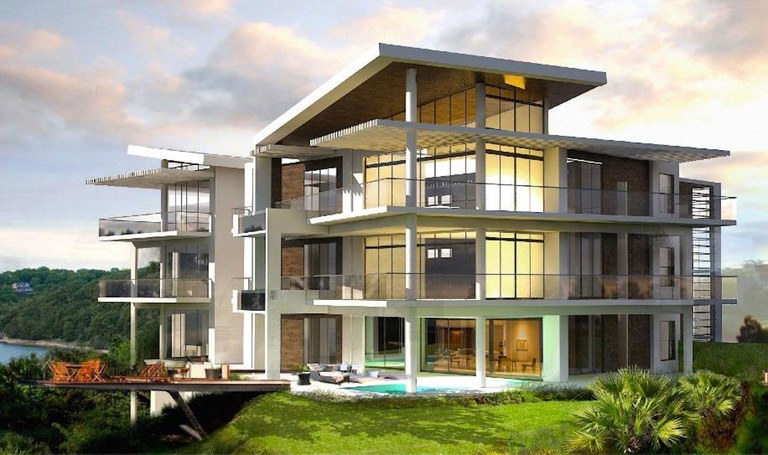 2nd Floor - Building 6 - Model A: Costa Rica Oceanfront Luxury Cliffside Condo for Sale