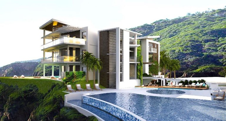 3rd Floor - Building 6 - Model A: Costa Rica Oceanfront Luxury Cliffside Condo for Sale