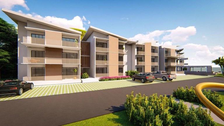 3rd Floor - Building 8 - Model C: Costa Rica Oceanfront Luxury Cliffside Condo for Sale