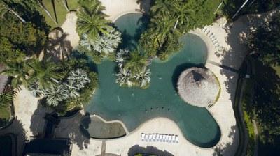 Matapalo 501 pool aerial