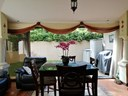 Truly beautiful Terrace area for parties with large collapsible glass doors for Open or close events