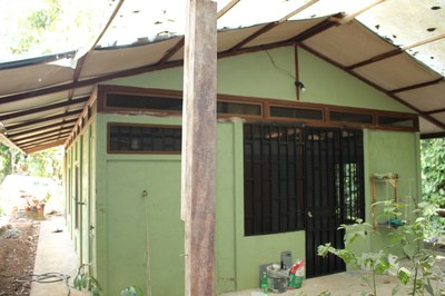 Back of the 2nd home at Casa Nené on the Osa Peninsula