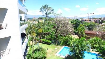 SIDE SWIM VIEW OF /Green House Condominiums: Luxury Condo For Sale in Escazu, Costa Rica
