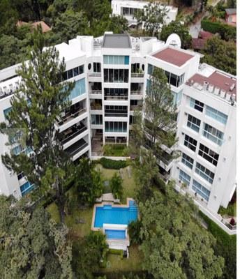 Arial View of /Green House Condominiums: Luxury Condo For Sale in Escazu, Costa Rica