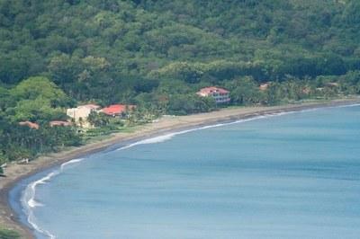 Playa Potreo Aerial View