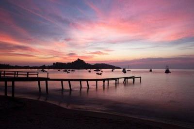 Playa Potrero Sunset