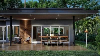 Exterior house design - House for sale in Bahia Ballena, Costa Rica