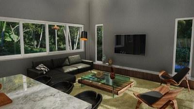 Living area - - House for sale in Bahia Ballena, Costa Rica