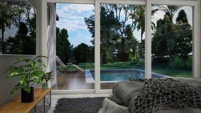 Extensive window panels - House for sale in Bahia Ballena, Costa Rica