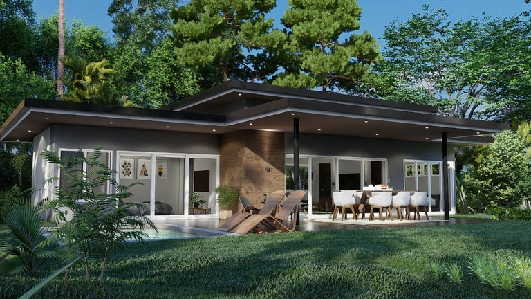 Casa Tangara: Luxury homes with sea view, designed in harmony with the environment