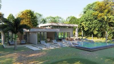 Modern green homes