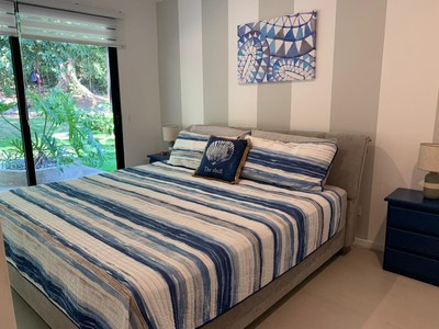 Bedroom view of this exclusive residential beach community in Costa Rica
