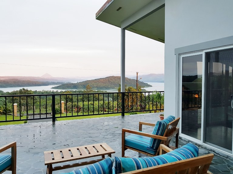 Remarkable Lake & Volcano  Arenal View Home: Unique Design To Capture The 180 Degree Views