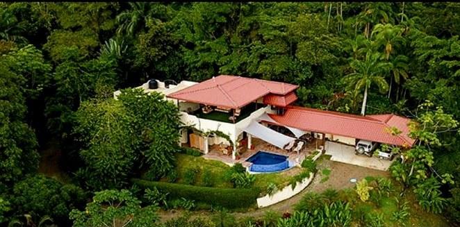 Casa Bougainvillea: Se Vende Casa en la Montaña en Dominicalito