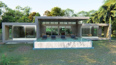 Exterior of Modern Mountain View Homes Near the Beach For Sale in Exclusive Community Area of Nosara- Costa Rica.jpg