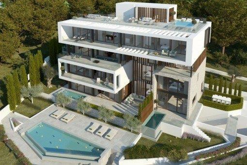 Luxurious Ocean View Three-plex house in Coco Bay Estates #44