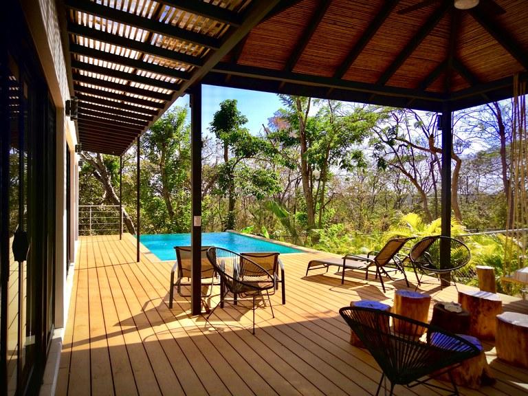 Stunning 4 story villa walking distance to playa Tamarindo