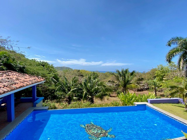 House with Pool for Sale Coyote Beach Guanacaste Costa Rica