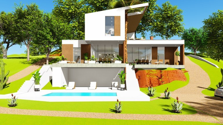 Coco Bay Estates Three-plex house #43: Exclusive houses, with a magical view of the ocean and nature