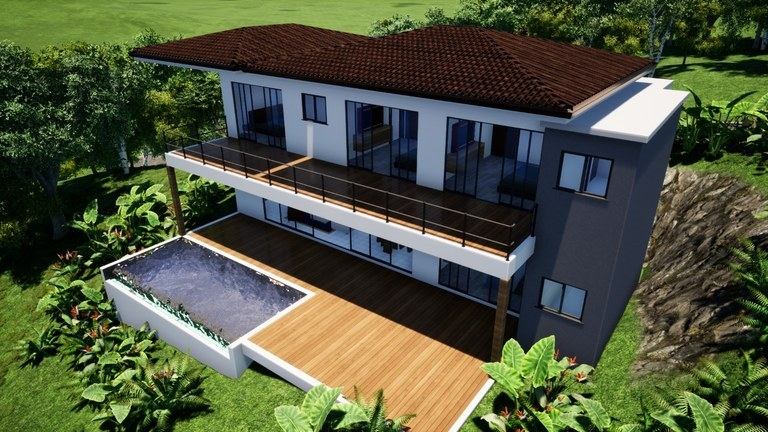 Coco Bay Estates Multiplex # 44: Exclusive houses, with a magical view of the ocean and nature