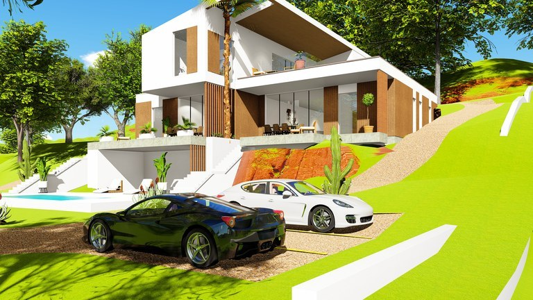 Coco Bay Estates Homes: Exclusive houses, with a magical view of the ocean and nature